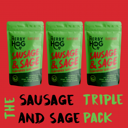 Three Packs of Sausage and Sage Seasoning